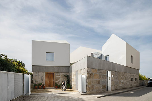 Three old houses converted into one
