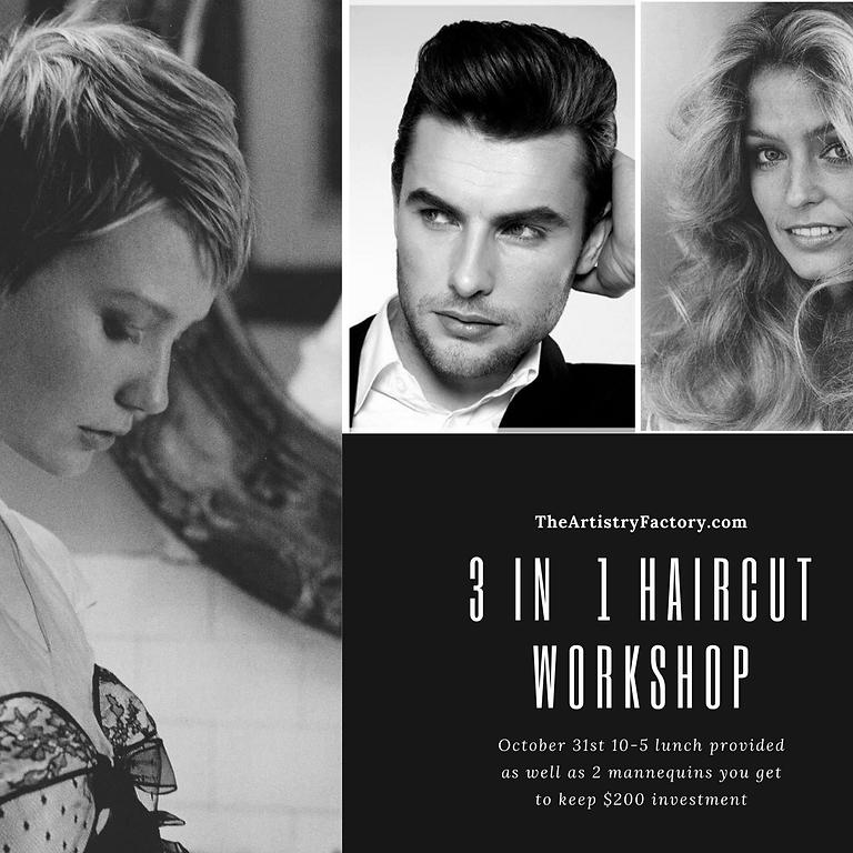 Haircutting 3 in 1 Workshop