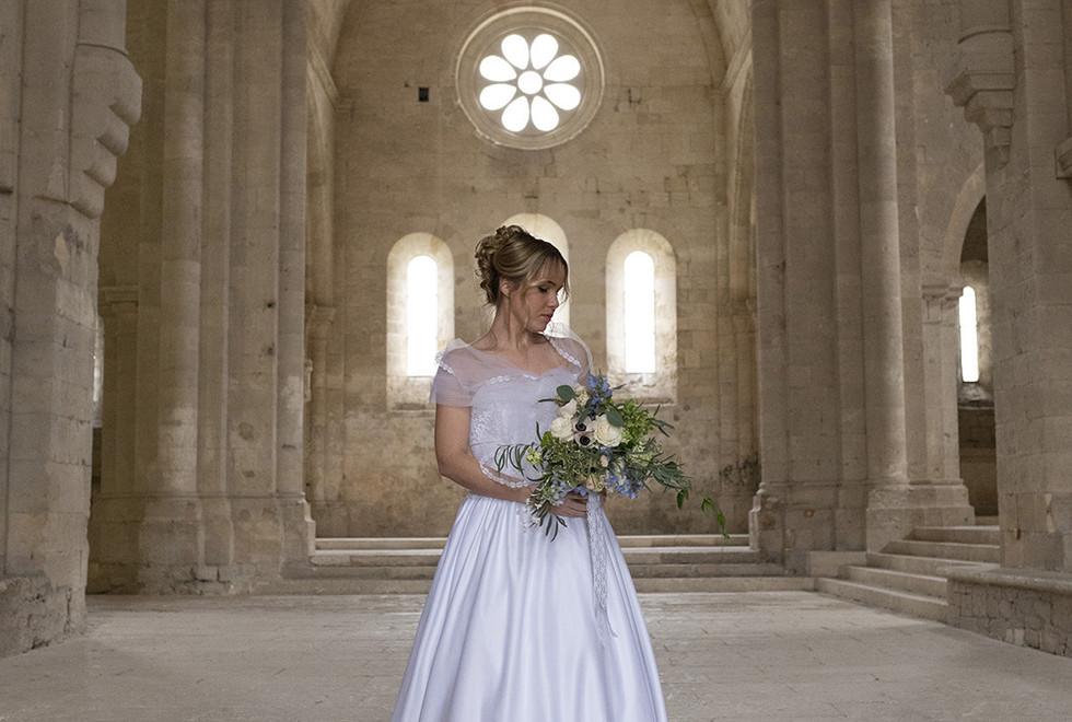 Photographe de mariage à l'Abbaye de Silvacane