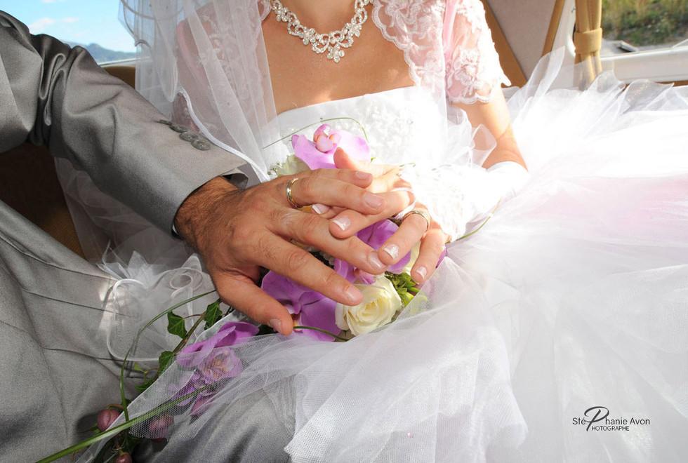 Photographe de mariage à Roussillon