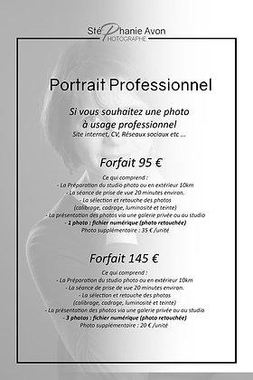 Séance Photo Professionnelle