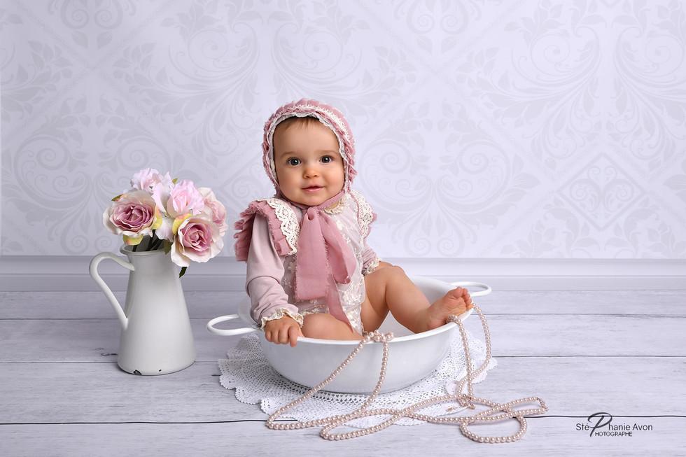 Photographe de bébé à Peyrolles en Provence