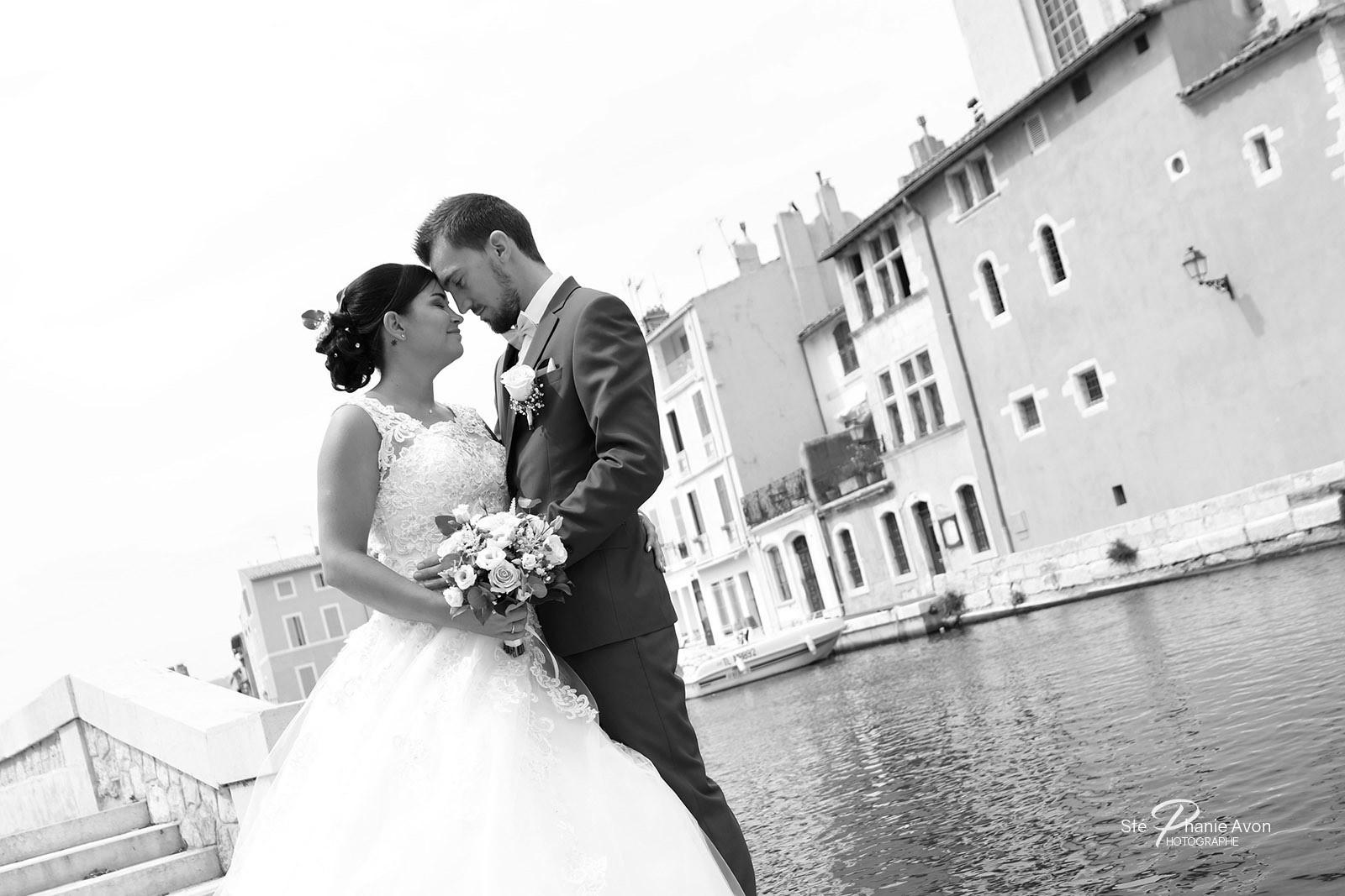 Photographe de mariage à Martigues
