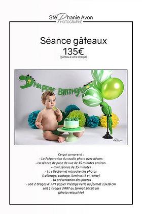 Séance Photo Gâteaux