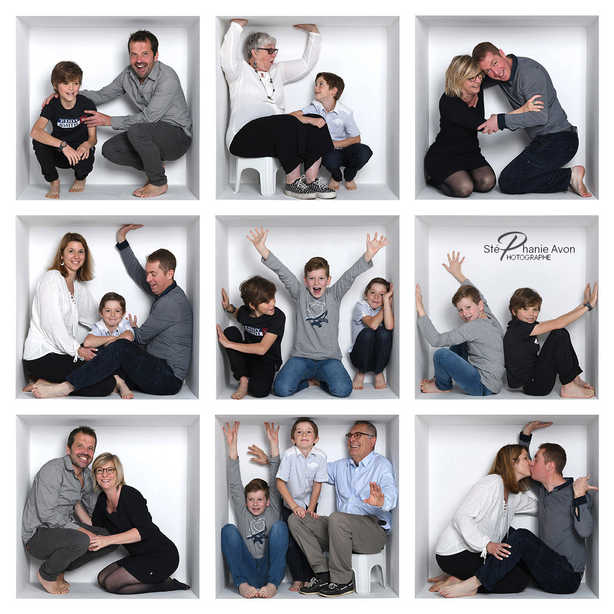 Photographe de famille La Box Family