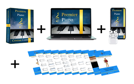 Entire Course! The ultimate piano learning system for Beginners!
