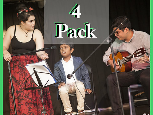 4 lesson pack