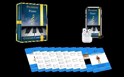E book, Audio book + Practise tracks by Premiere Piano