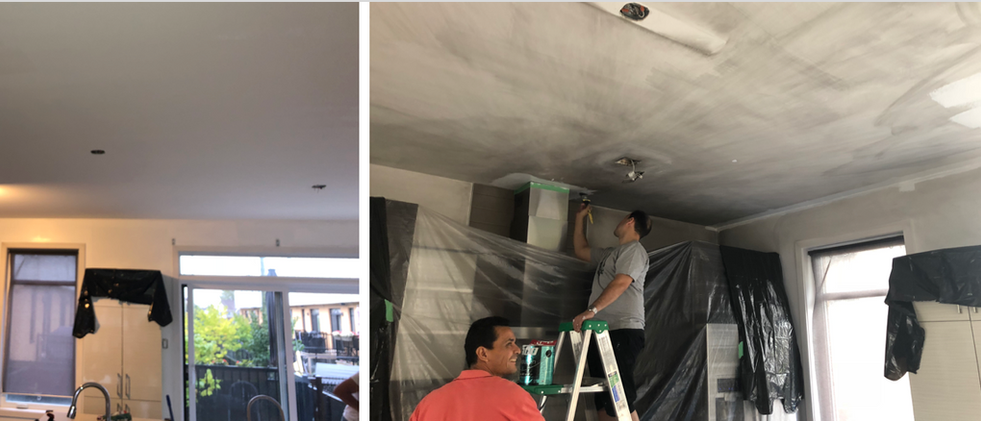 Preparation Plafonds