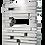 Muro Inox ACMP Radiatore Termoarredo di Design Verticale Moderno Inox