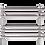 Windsor Inox ACMP Radiatore Termoarredo di Design Verticale Moderno Inox