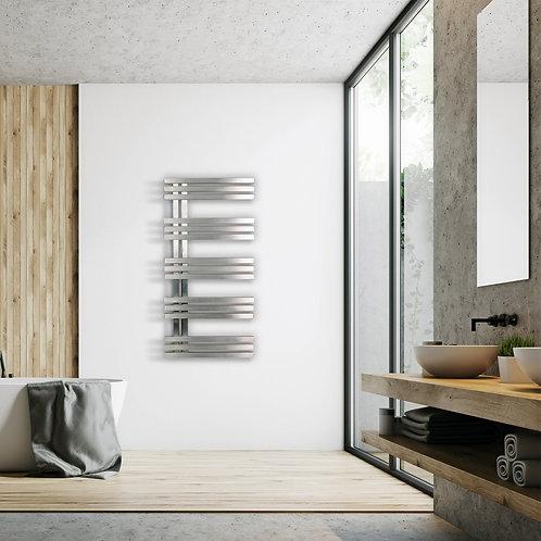 Alias Inox Elettrico ACMP Radiatore Termoarredo di Design Verticale Moderno