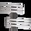 Magma Inox Elettrico ACMP Radiatore Termoarredo di Design Verticale Moderno