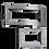 Clash Inox ACMP Radiatore Termoarredo di Design Verticale Moderno Inox
