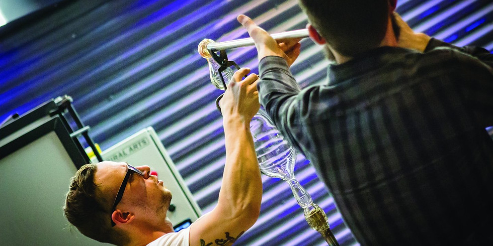 FREE Demonstration - Glass Blowing at the FIA - Flint