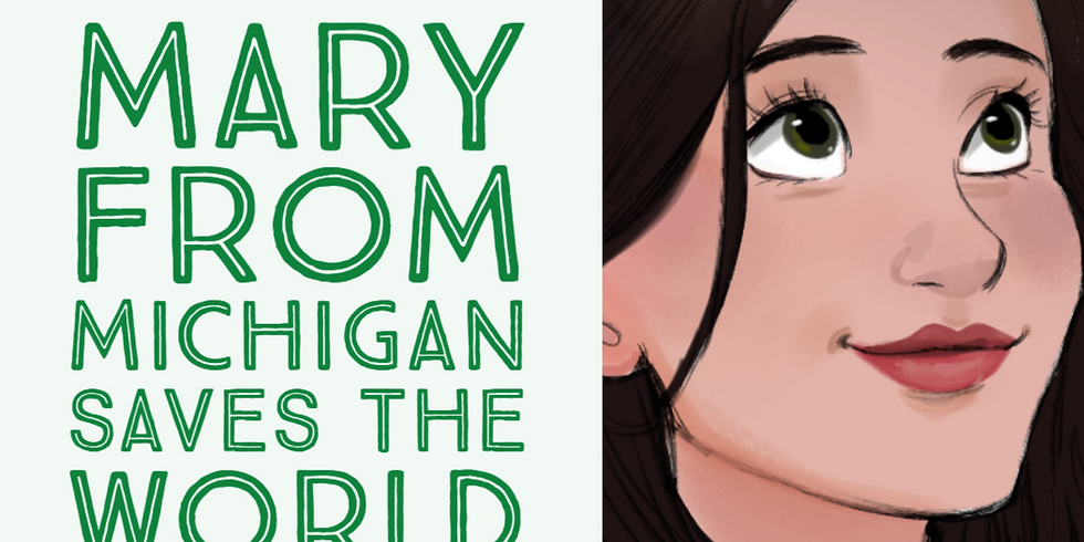 LIVE Podcast Recording - Mary from MI Saves the World - Ann Arbor