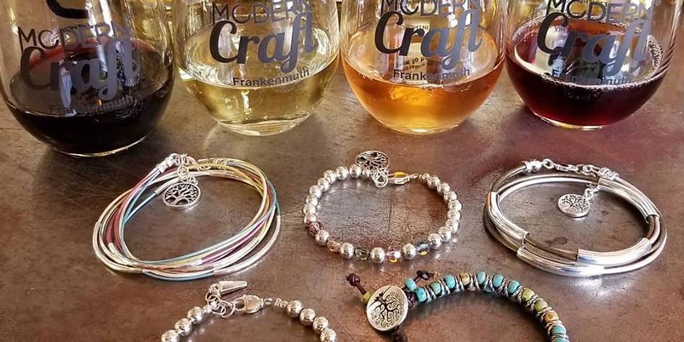 Wine Tasting and Bracelet Making Workshop - Frankenmuth