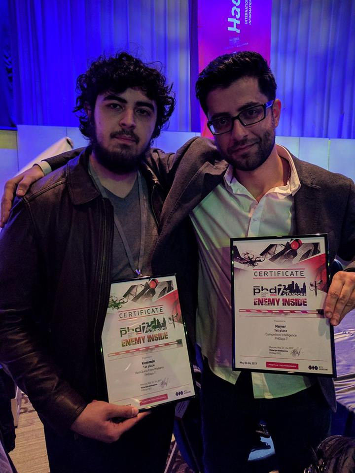 Vahe and Sipan PHP Days winners