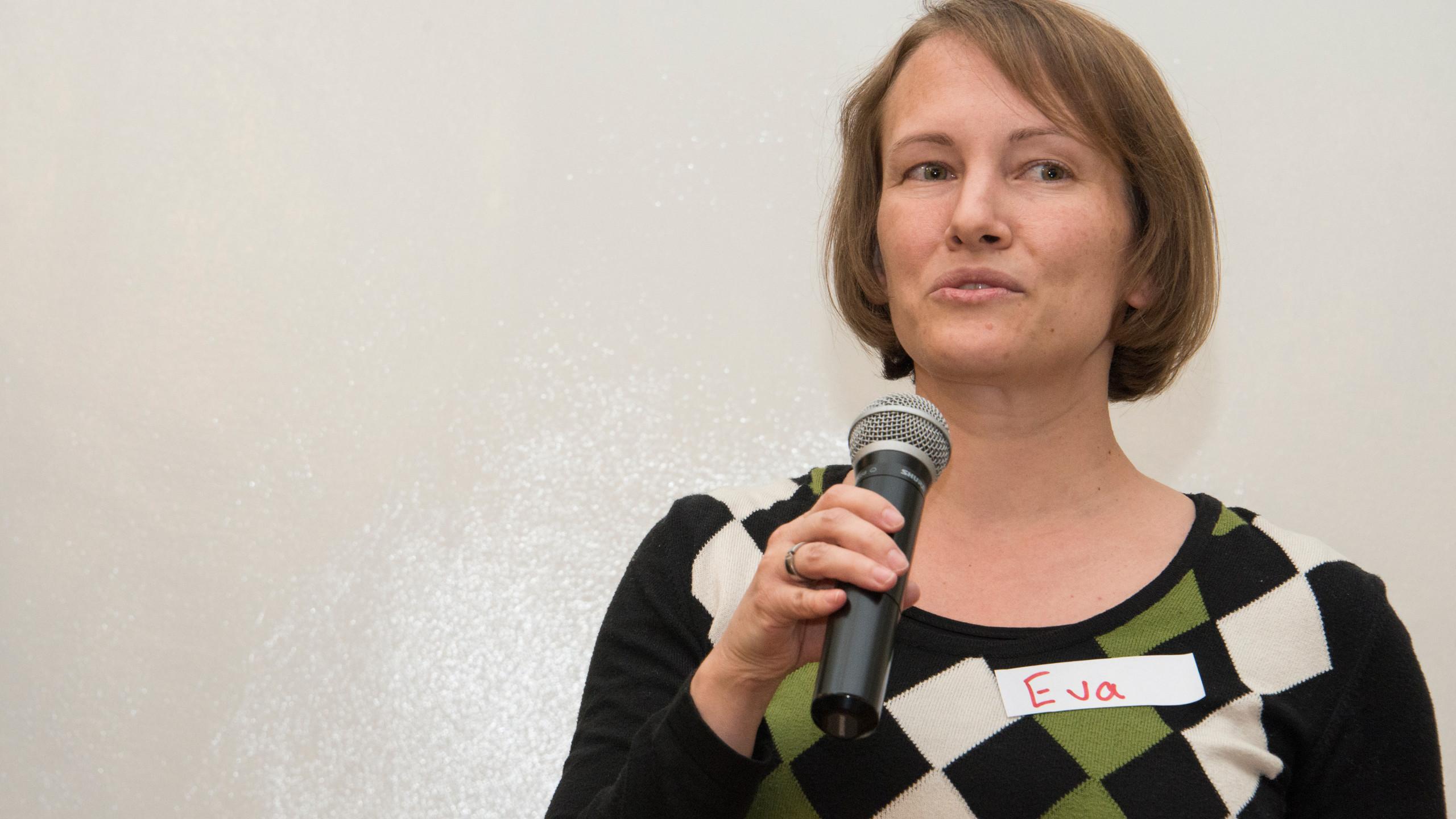 Eva Maria Naeher's welcome address