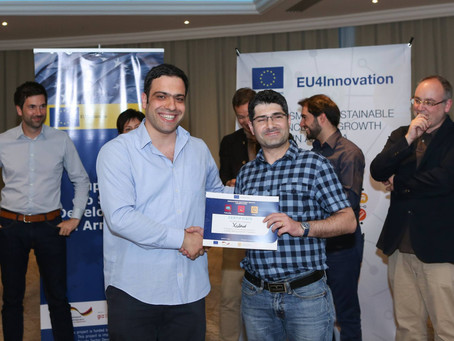 Our pipeline companies awarded EUR15-50K grants from the EU