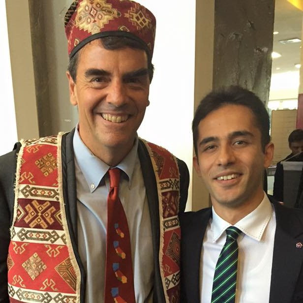 Tim Draper and Hambardzum Kaghketsyan