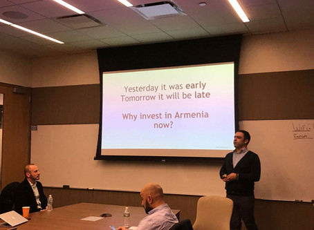 Armenian Tech Startups and Venture Capital – Reaching for the Brass Ring