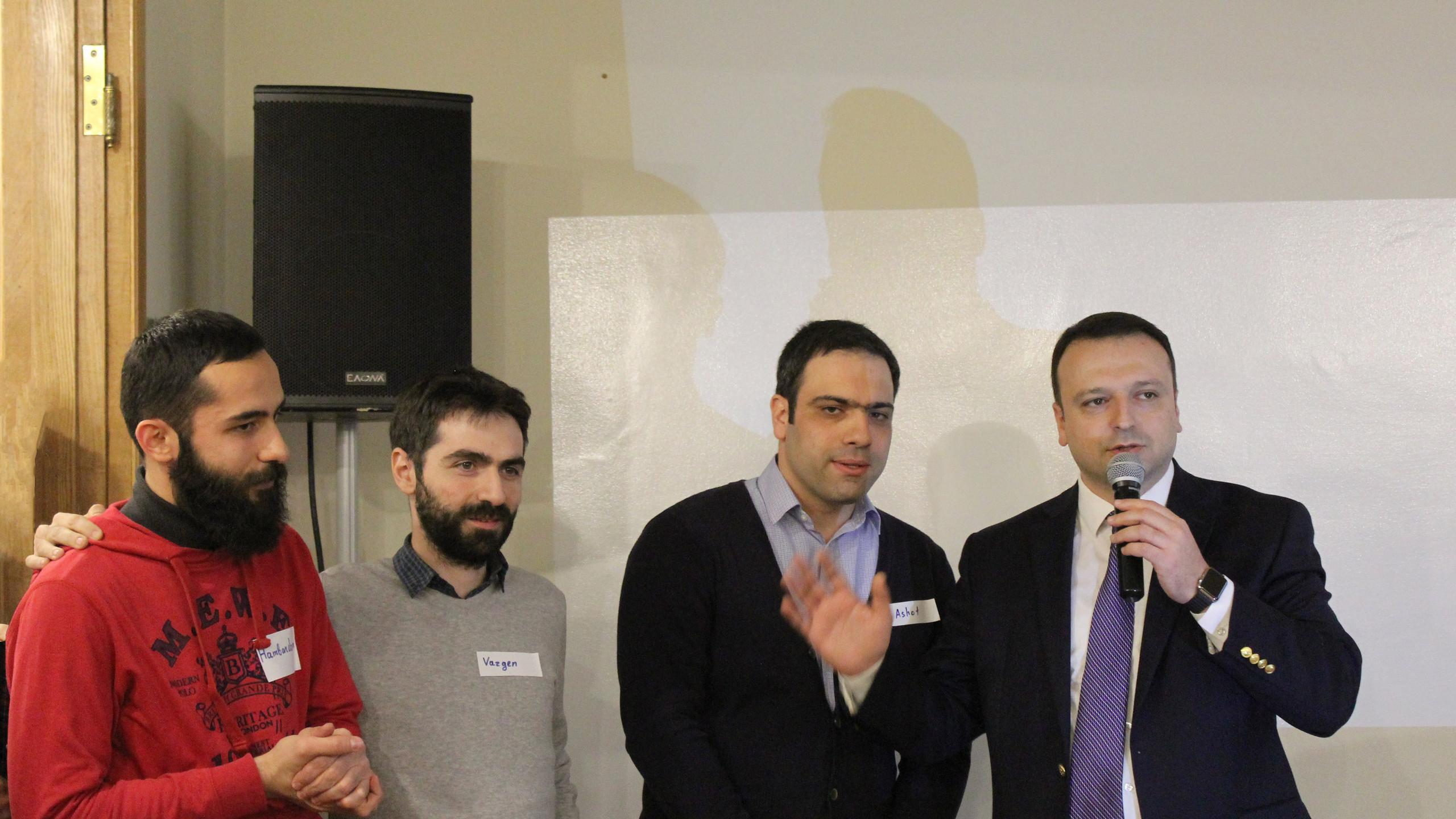 Emil Tarasyan's welcome address