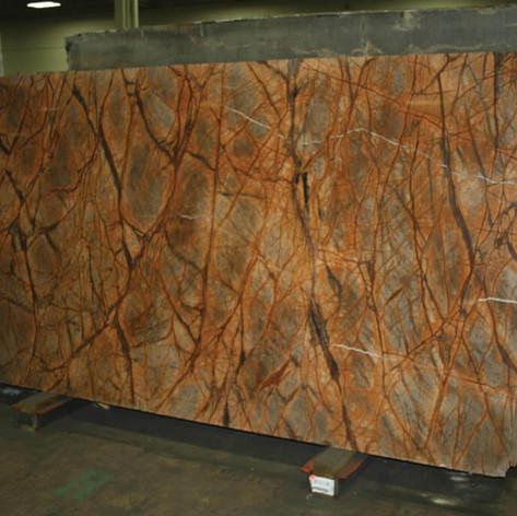 Rain Forrest Brown 3CM Marble