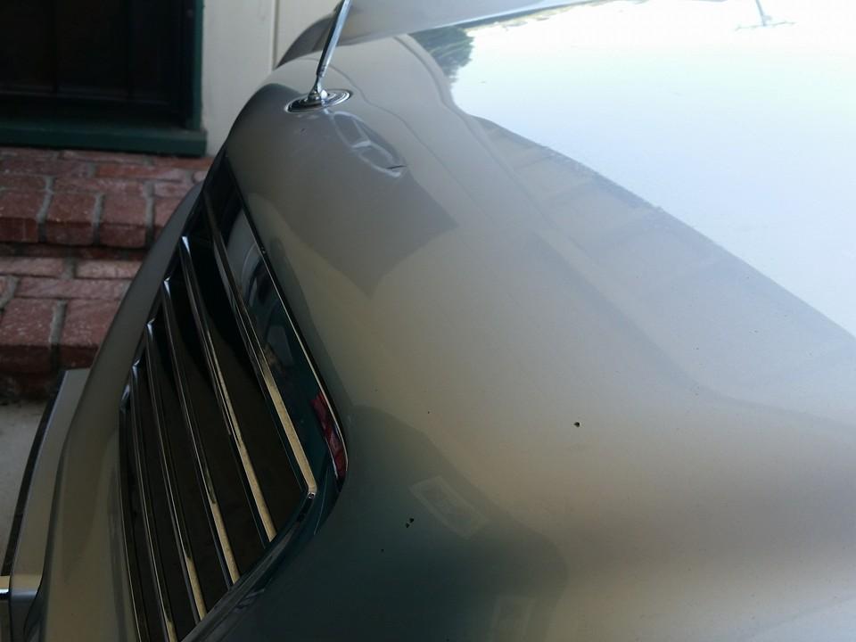 Mercedes hood After