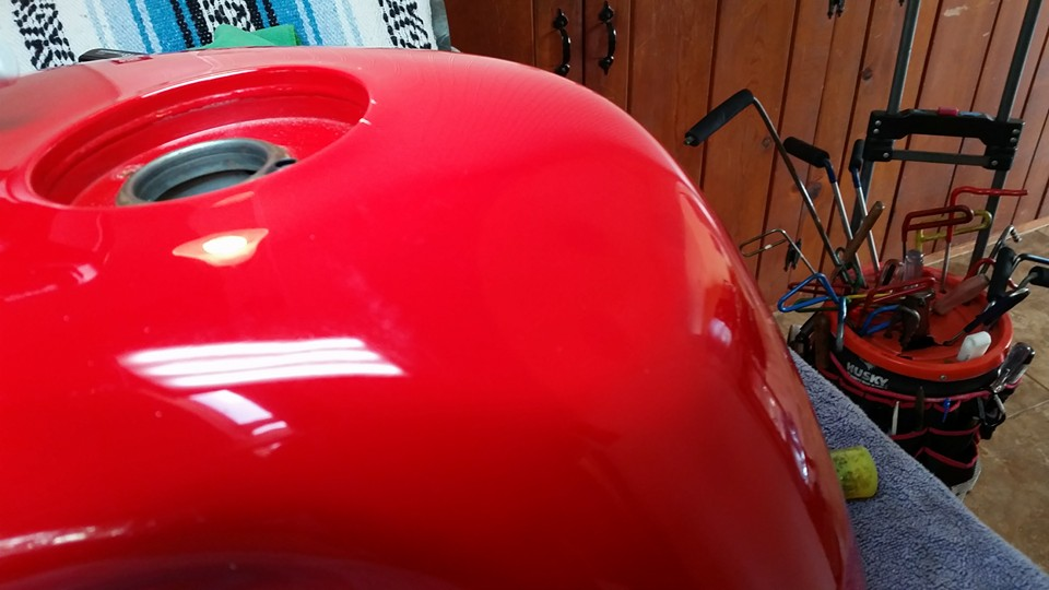 Ducati Tank