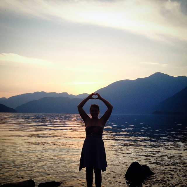 Instagram - And good night! #love #clearlysummer #beautifulbc photo credits - @u