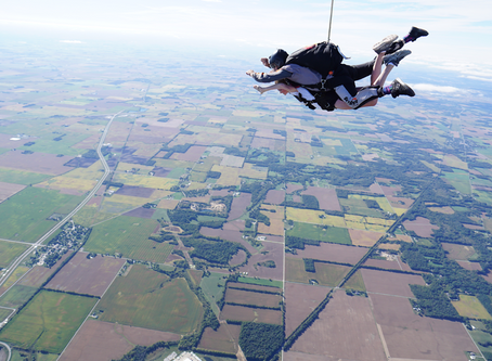 Skydiving for the Bravest Kids in the World