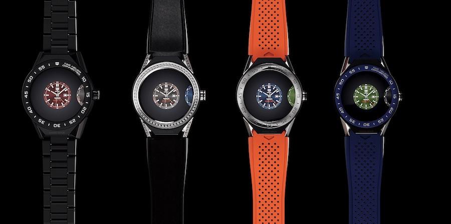 Relógios inteligentes Tag Heuer