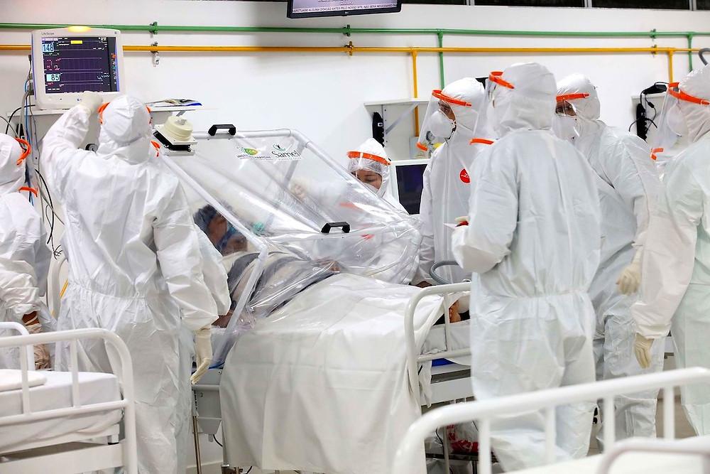 hospital de campanha brasileiro