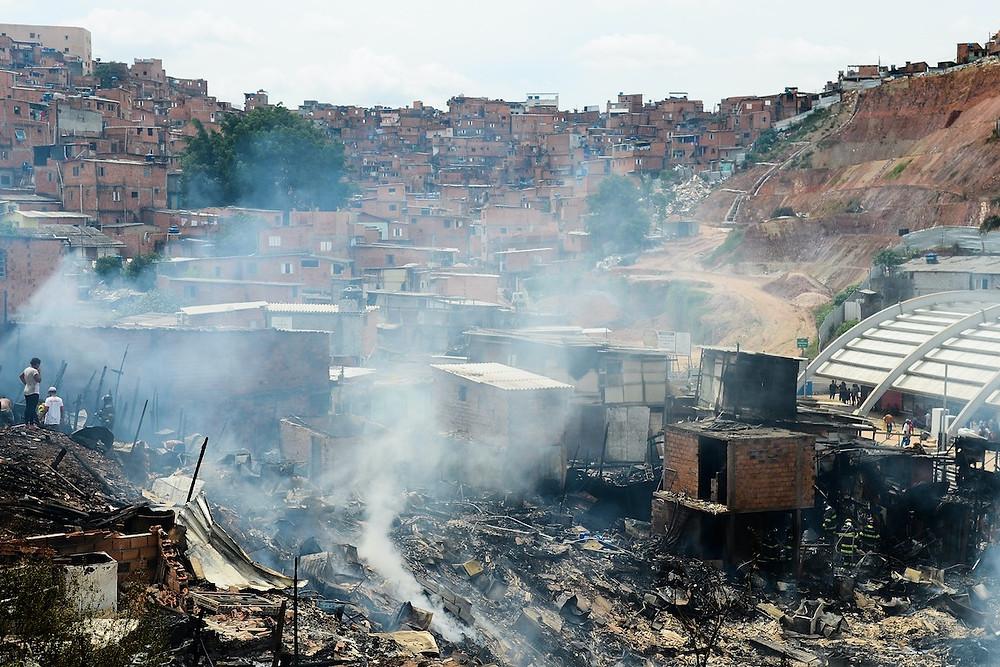 Incêndio em Paraisópolis