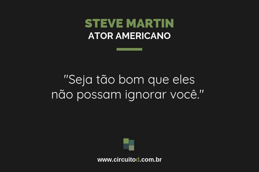Frases sobre trabalho de Steve Martin