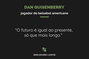 Frase de Dan Quisenberry sobre futuro