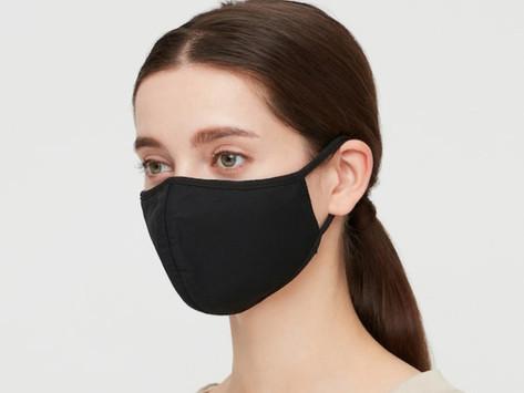Por tanta gente quer essa máscara da Uniqlo?