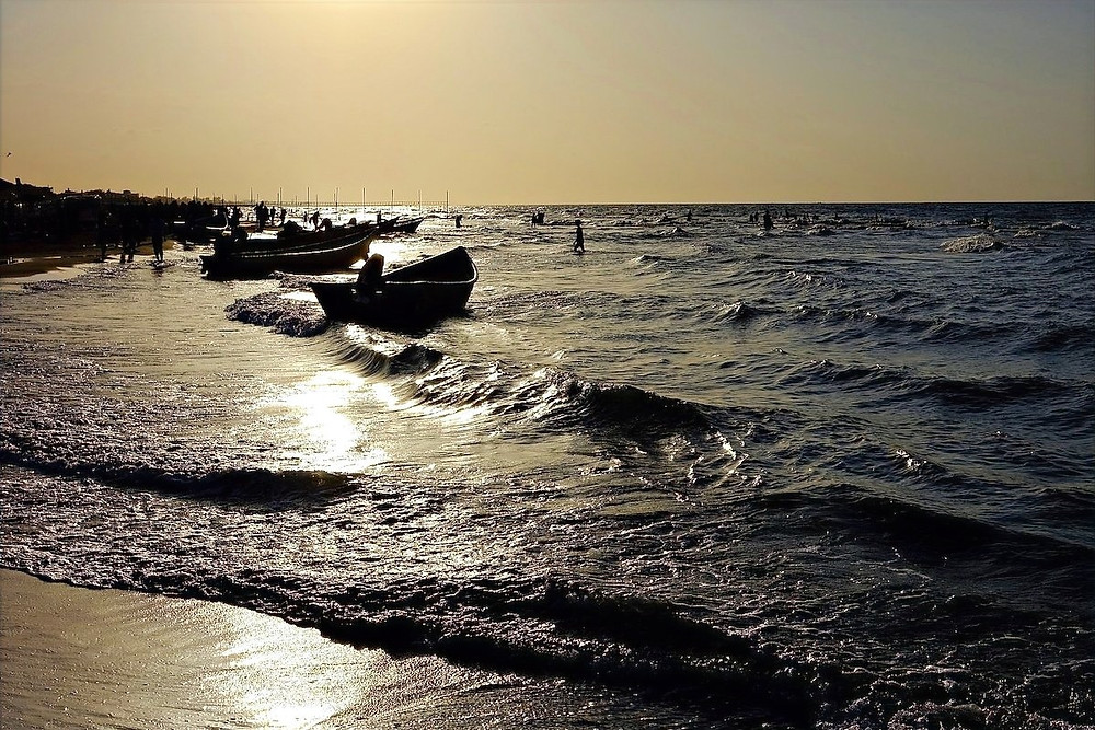 Mar Cáspio no Irã