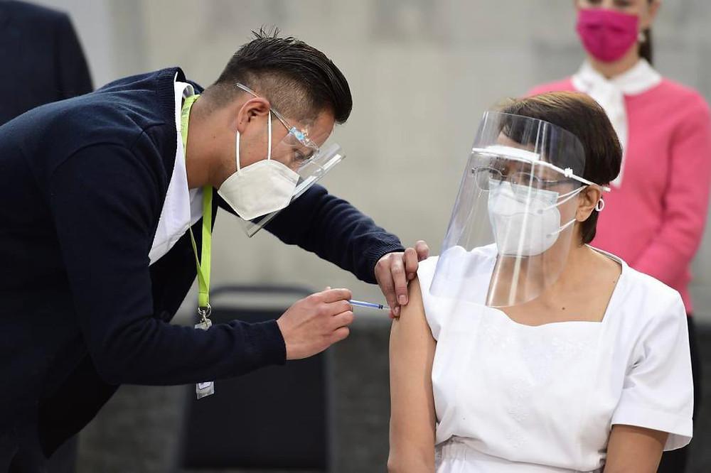 Vacinação na Cidade do México