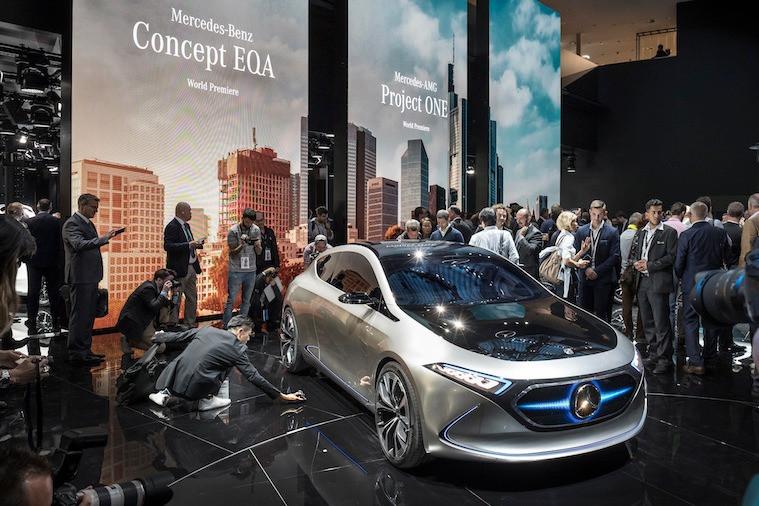 Concept EQA, da Mercedes-Benz
