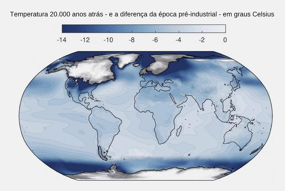 Mapa global de temperatura