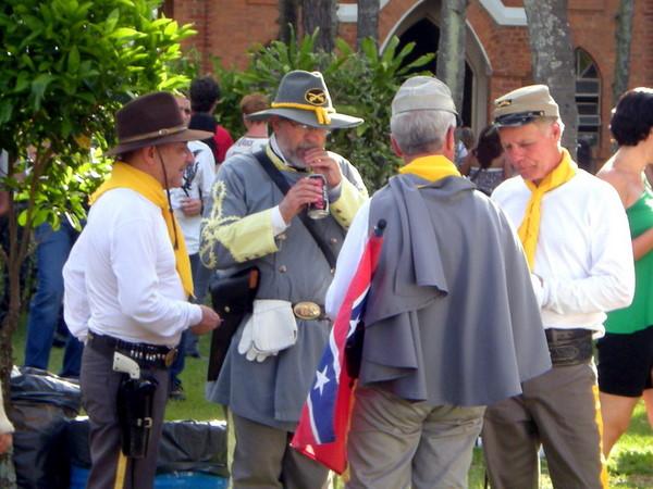 Festa confederada em Santa Bárbara