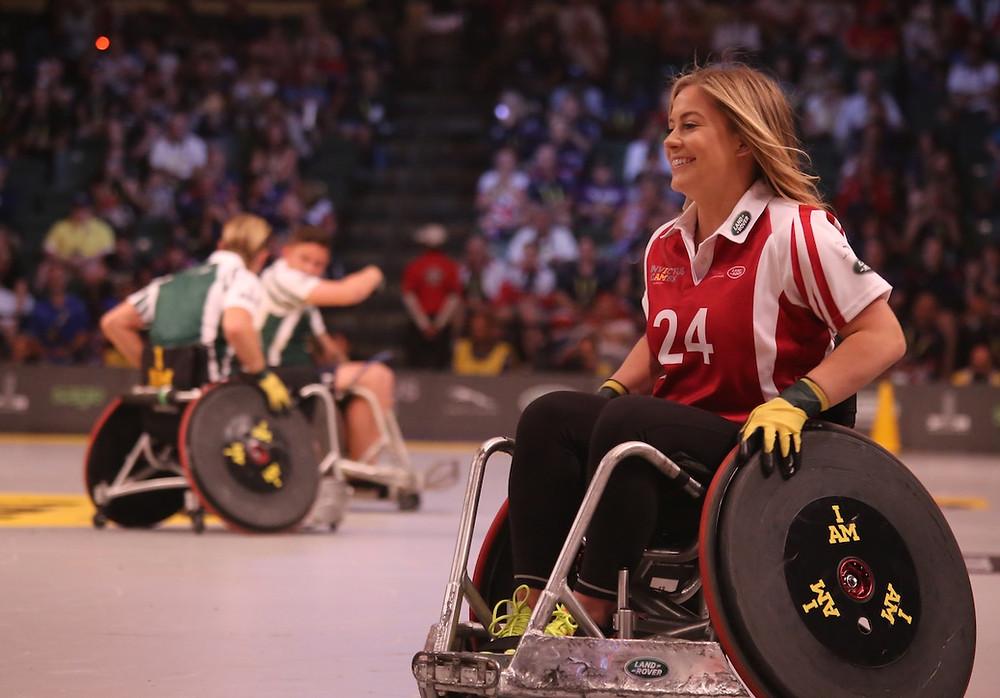 Basquete feminino em cadeira de rodas