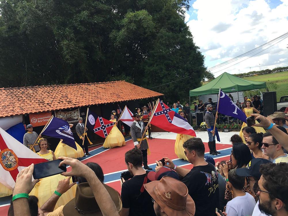 Foto de festa confederada