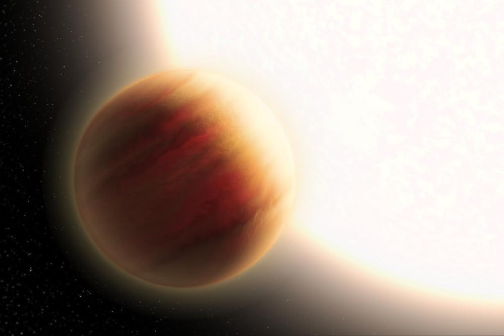 Ilustração do exoplaneta WASP-79b