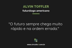 Frases sobre o futuro de Alvin Toffler