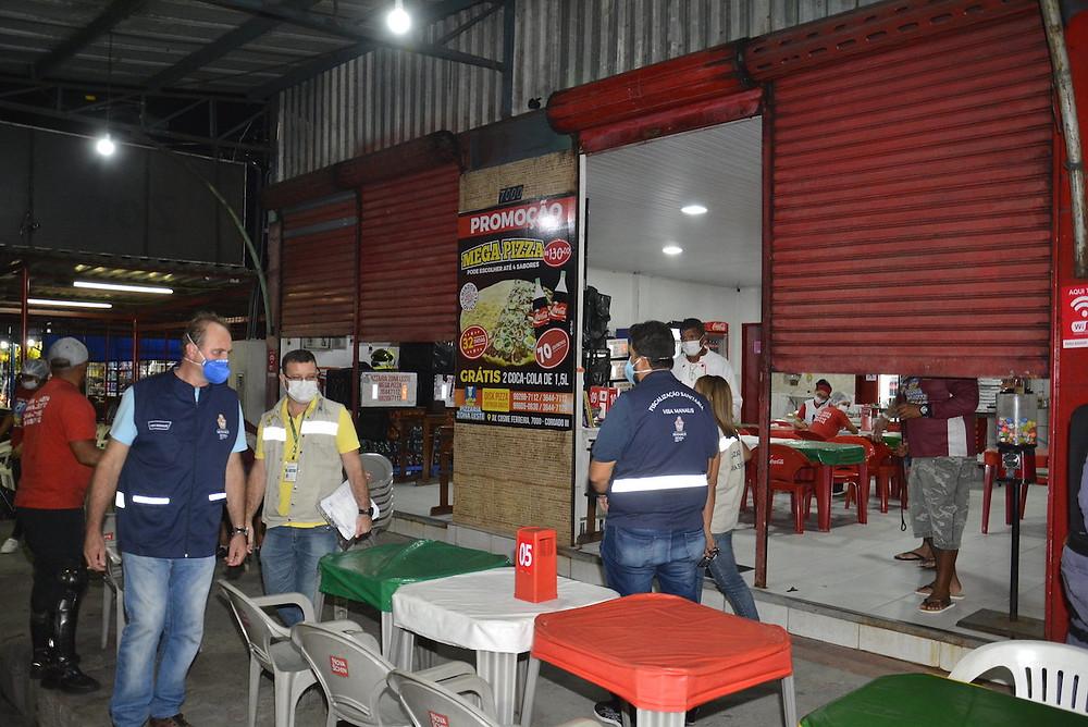 Vigilância sanitária em Manaus