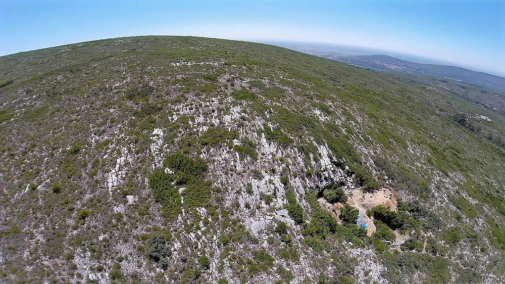 Caverna do Picadeiro vista de cima