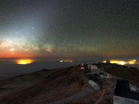 Astrofotografia: a beleza da Via Láctea no deserto de Atacama